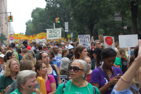 NYC Climate Rally
