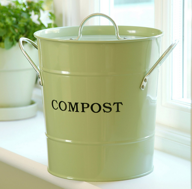 Compost scrap bucket from hayneedle.com
