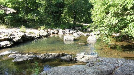 A natural spring