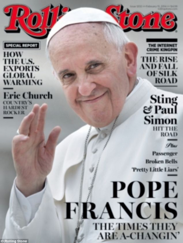 Rolling Stone Pope