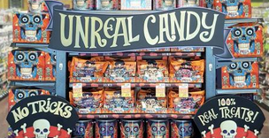 Unreal Candy Display at Whole Foods