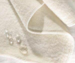 OMI's moisture resistant wool mattress pad