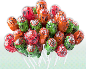 Glee Gum Pops - zero artificial sweeteners, preservatives, colors or flavors!