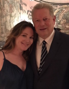 Me and Al Gore at the NYC screening of An Inconvenient Sequel: Truth to Power